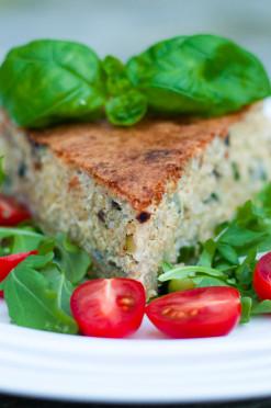 fritatta quinoa groente