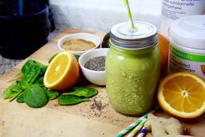 Herbalife groene smoothie