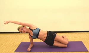 Pilates video claartje