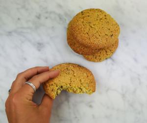 chocookie vanille reuzenkoek