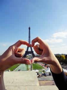 liefde valentijn parijs