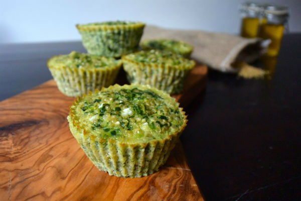 Omelet muffin spinazie quinoa
