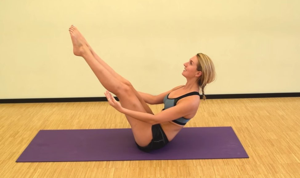 Pilates les 4: Train je core & rugspieren - Foodness.nl