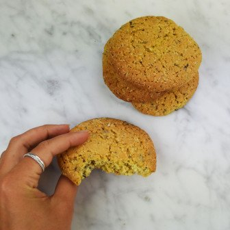chocookie vanille reuzenkoek