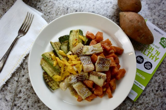 Fish and sweet potato Body & Fit