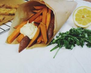 VIDEO: vegan fish & chips