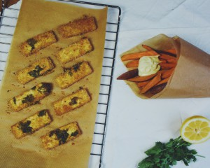 VIDEO: vegan fish & chips