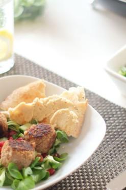 falafel met gehakt