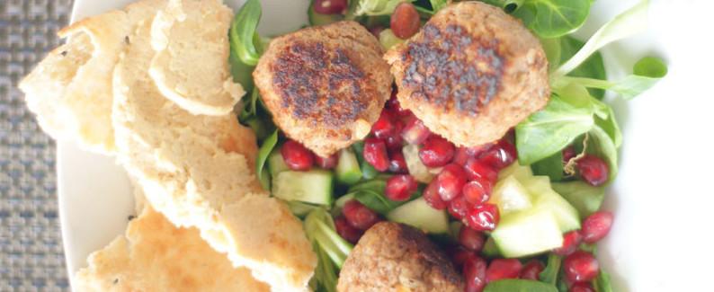 falafel met vlees