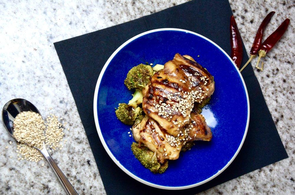 ijwitrijk voedsel met broccoli
