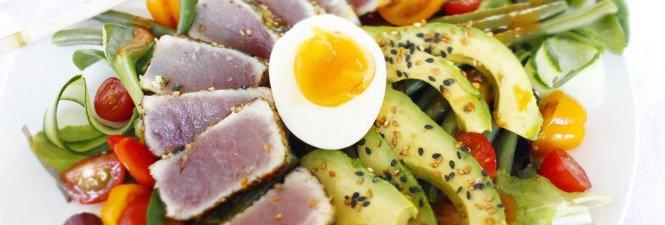 Aziatische tonijnsalade