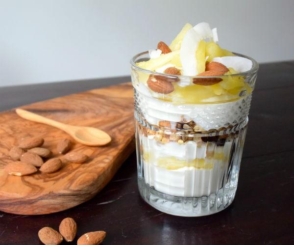 griekse yoghurt trifle