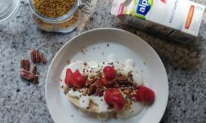 Skinny bananensplit als ontbijt
