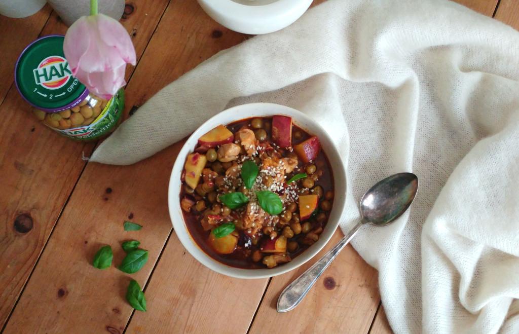 Winnend recept: Pittige rode curry met veldertjes erbij à la Renske