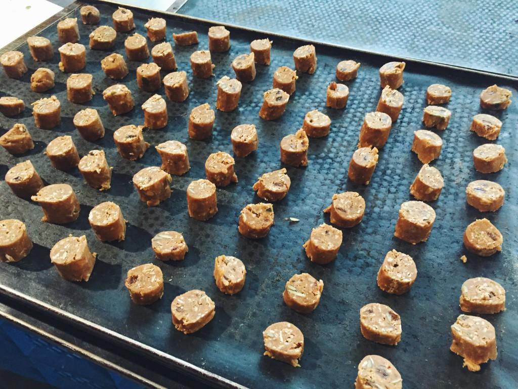 (Spelt)Koekjes bakken met een echte koekenbakker