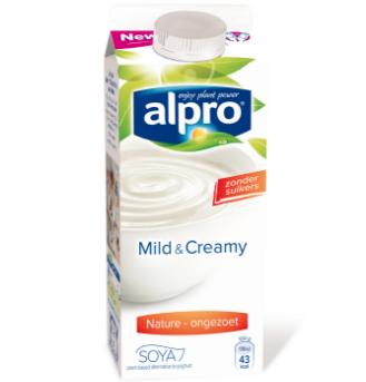 Alpro Mild & Creamy Naturel Ongezoet