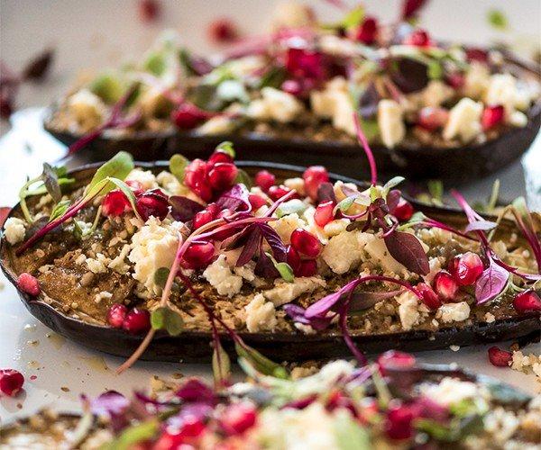 Geroosterde aubergine