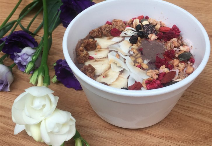 acai bowl pop up foodstand foodness