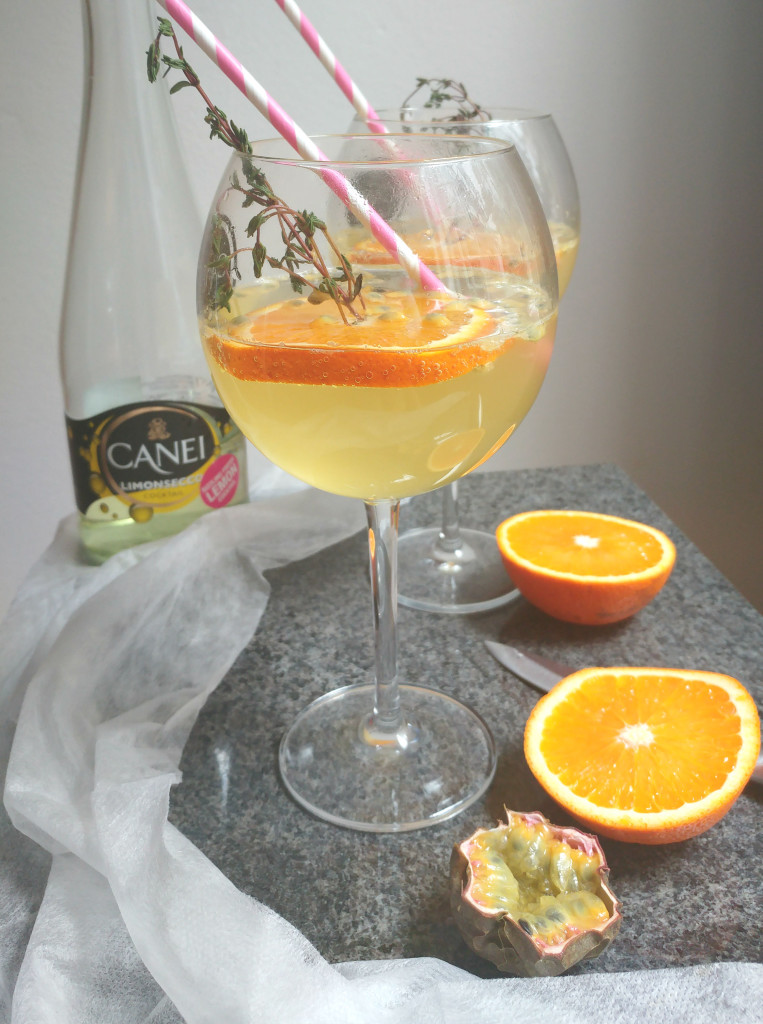 Cocktail o'clock: Canei Limonsecco met sinaasappel & passievrucht