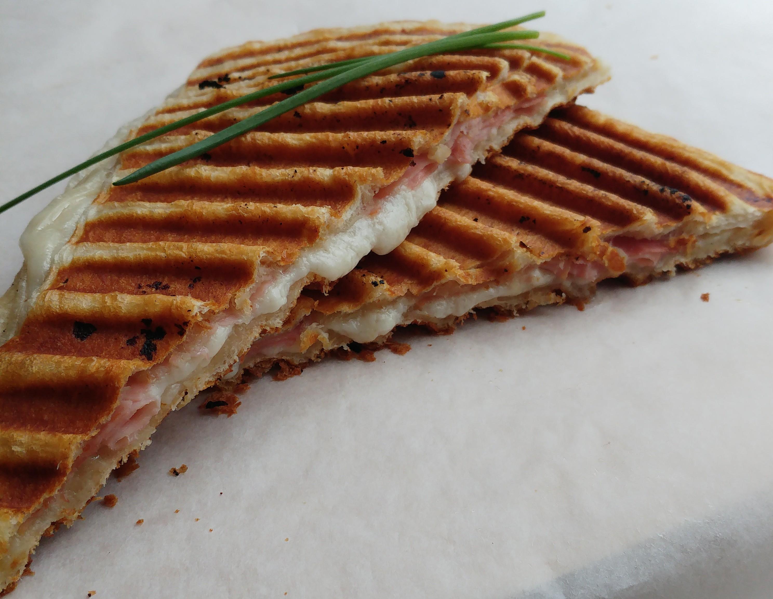 Crossti Ham-Kaas Food Mash-up #1
