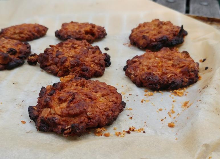 Super crunchy granola koekjes - VIDEO!