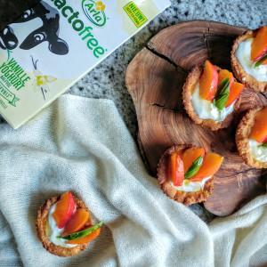 Mini taartjes met lactosevrije vanilleyoghurt en perzik - Taartje van Claartje #10