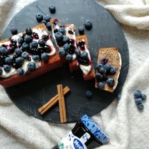 Blueberry bread - bananenbrood met bosbessen