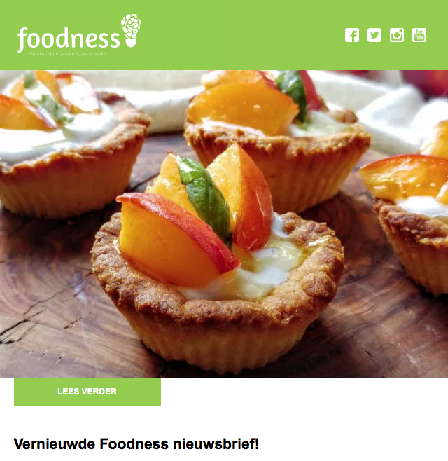 Foodness Dagboek Sept/Okt 2016