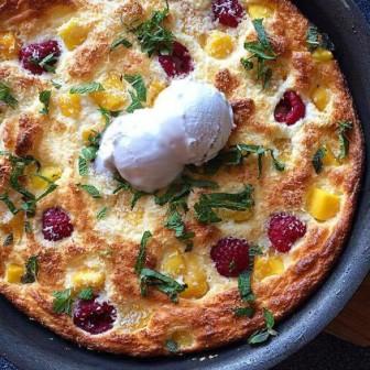 zoete souffle omelet