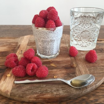 Chia-pudding-it-yourself in Lavinia Good Food stijl