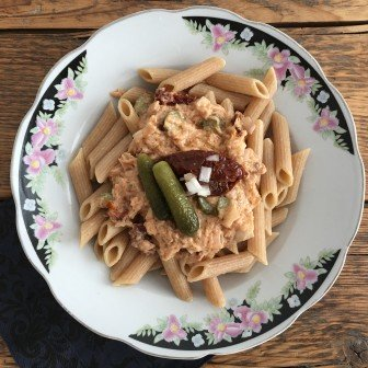 Snelle penne tonijn en smaakvol Spaghetteria Oost