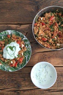 Couscous salade verslaving vanaf nu present!