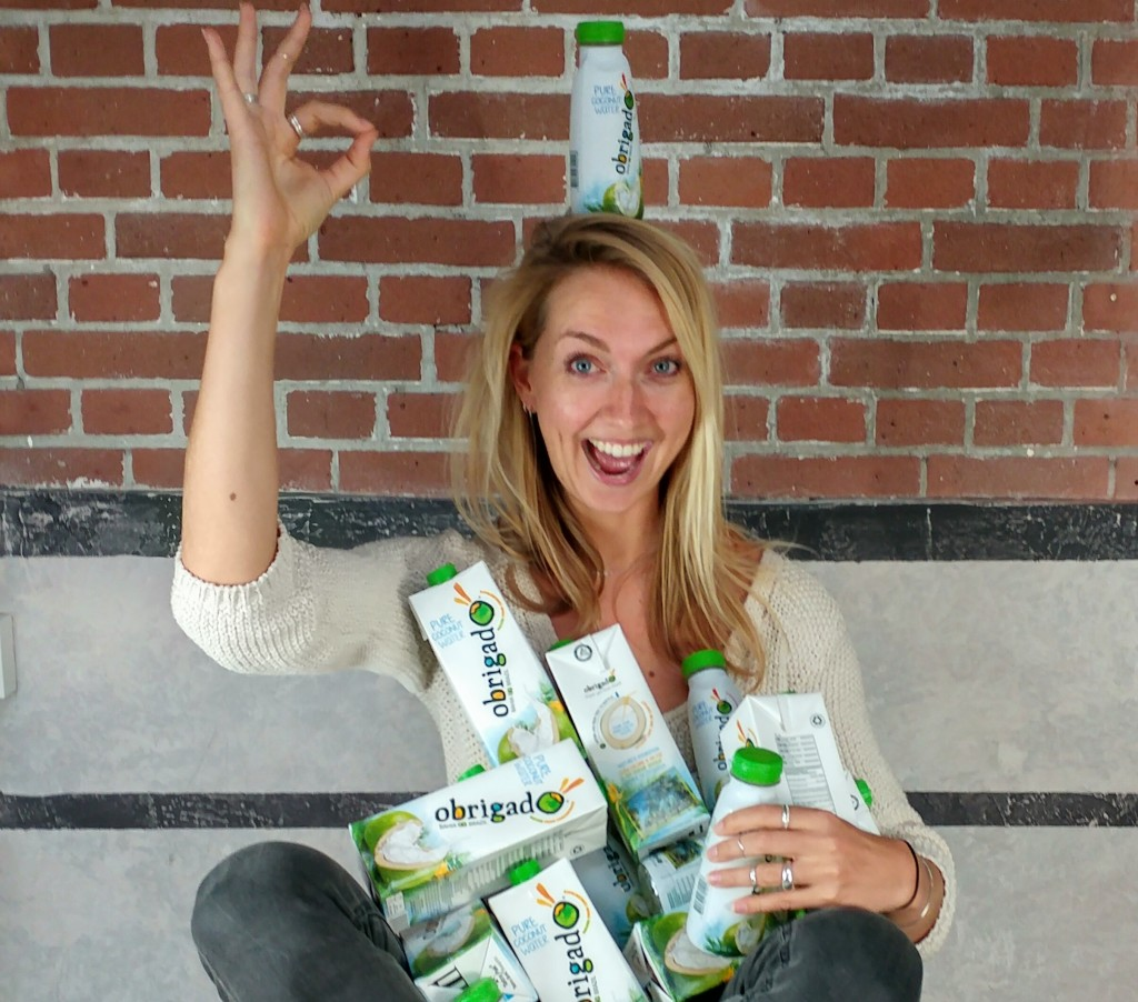 Obrigado winactie: 3x kokoswater-pakket gelijkwaardig aan 20 kokosnoten