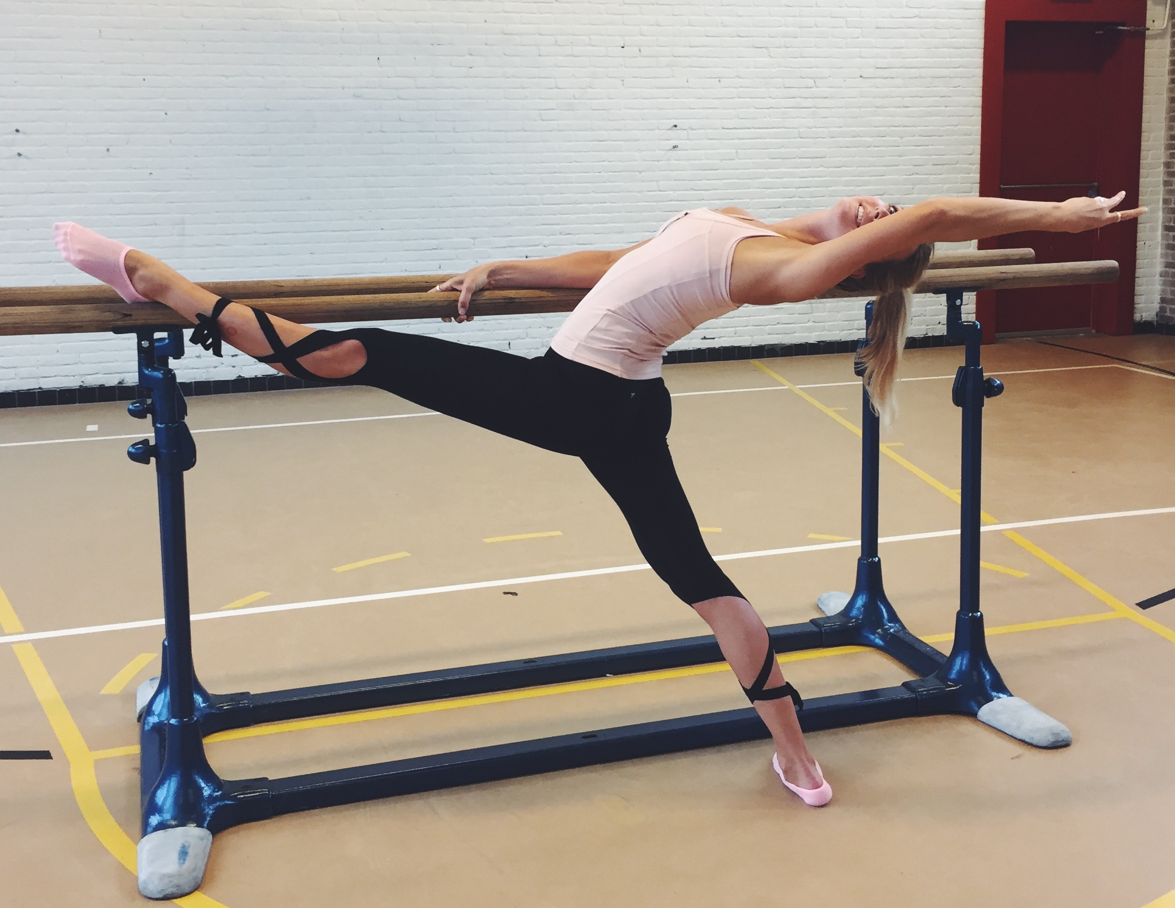 Sport test: Barre workout
