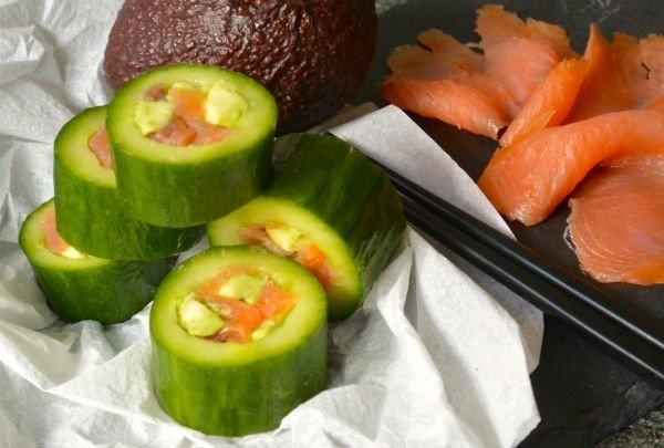 sushi als gezonde lunch