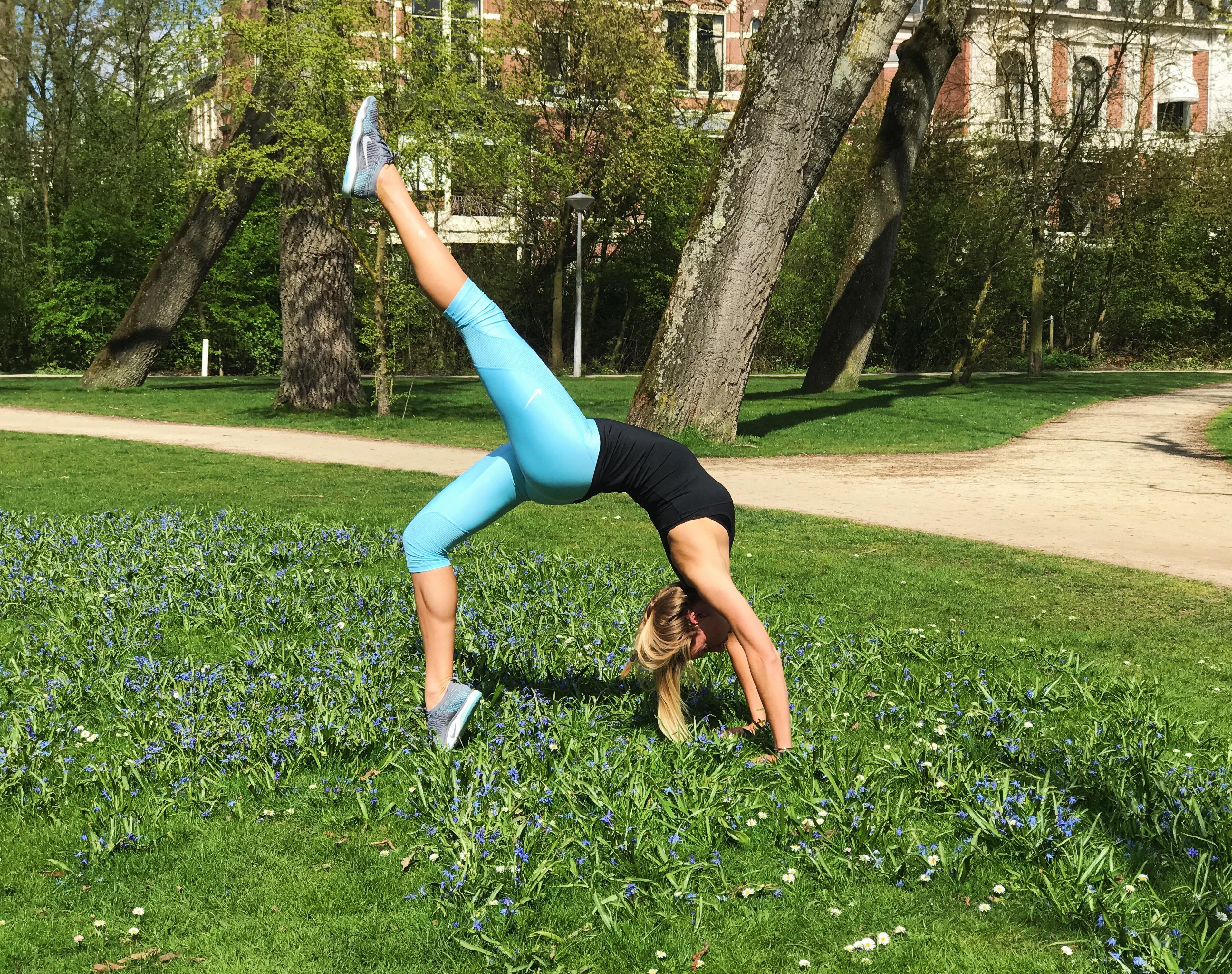DIY Bootcamp & Yoga oefeningen in het park