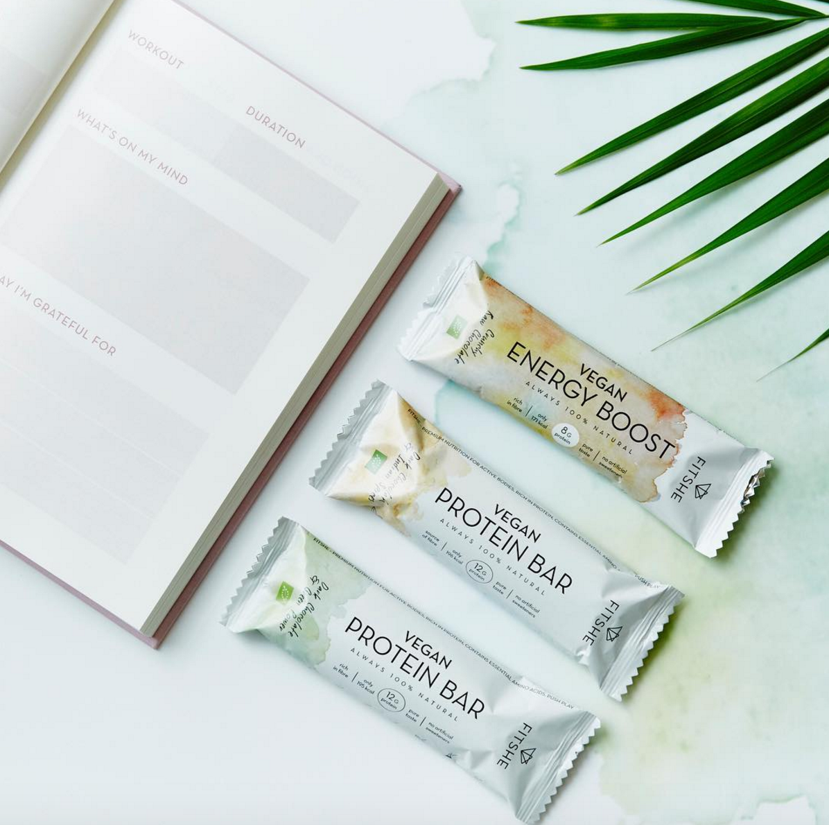 WIN: 2x Fitshe pakket twv. €140,- met (vegan) energy bars