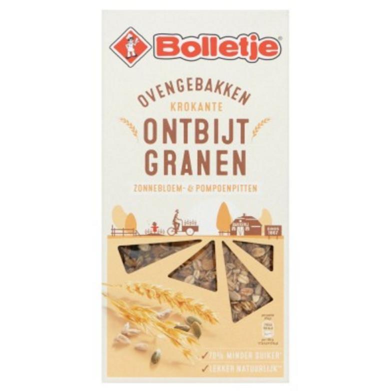 Bolletje Krokante Ontbijtgranen Zonnebloem & Pompoenpitten