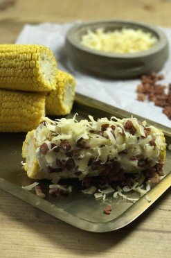 Hoe kook je een maiskolf? (Lekker met bacon & kaas!)