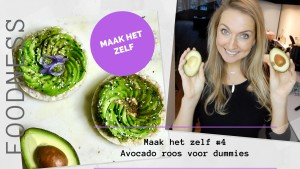 Avocado roos voor dummies || Maak Het Zelf #4