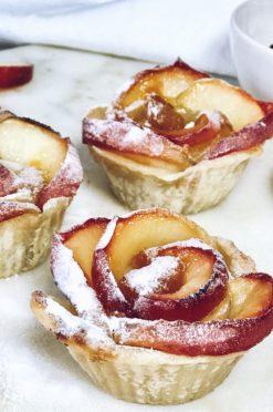 Simpel rozen appeltaartje - met maar 3 ingrediënten!