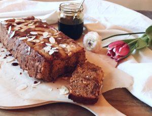 Carrot cake met appel boekweitmeel - gezond(er) bakken!