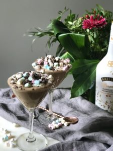 Freakshake met Baileys, koffie en chocola (plantaardig & lactosevrij!)