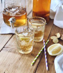 Kombucha (gefermenteerde thee) gemaakt met TEAmwork Tea - Is het gezond?