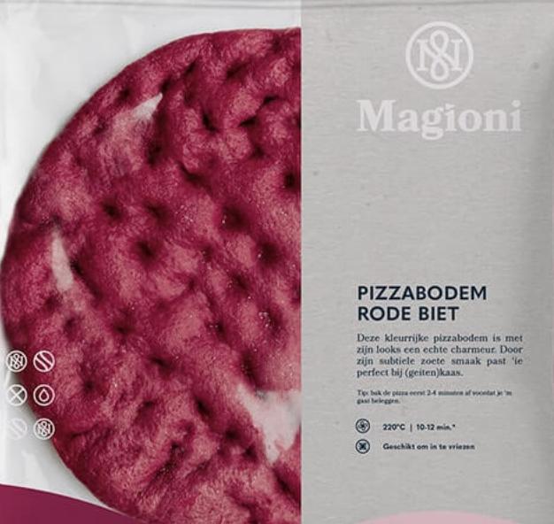 Pink pizzabodem mini (Magioni)