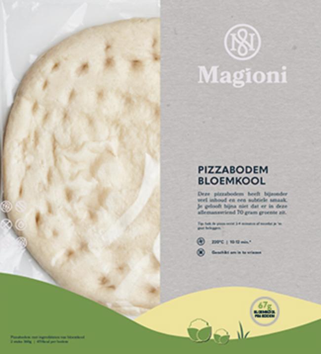Pizza bodem bloemkool (Magioni)