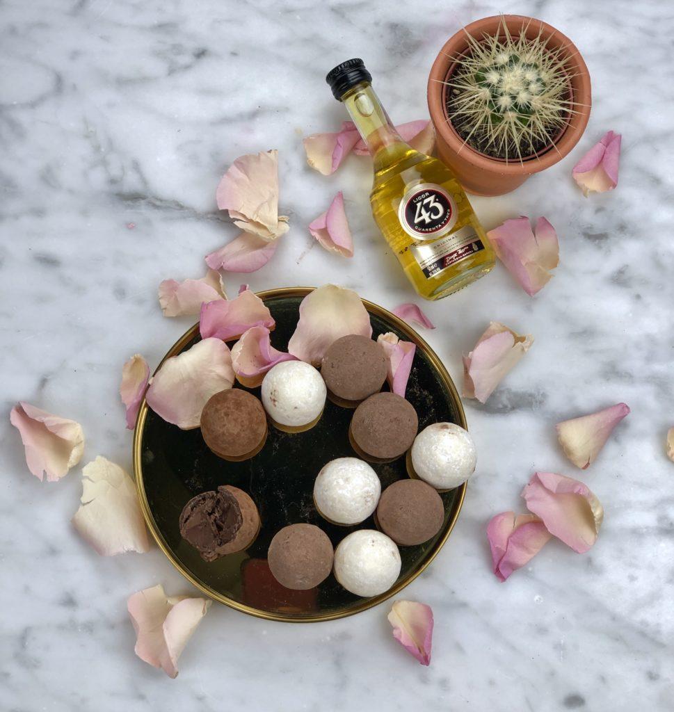 DIY chocoladetruffel met Licor 43