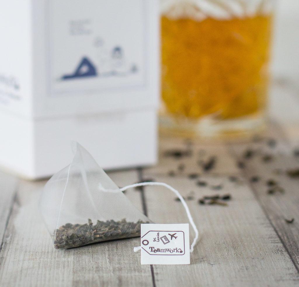 TEAmwork Tea Claartje Schroder soilon piramidezakjes biologisch afbreekbaar