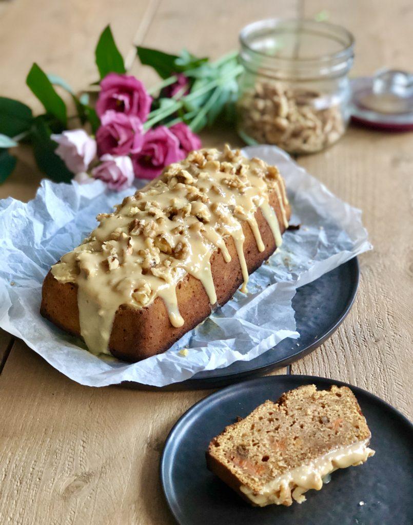 Sweet potato bread: cake met zoete aardappel
