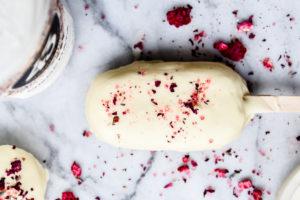 Magnum ijsje met witte chocola en Licor 43 Orochata